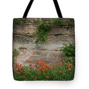 Sandstone Lilies Tote Bag