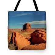 Sandstone Near And Far Tote Bag