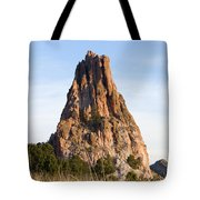 Sandstone Spires In Garden Of The Gods Tote Bag