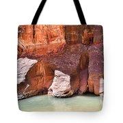 Sandstone Toes In The Virgin River Tote Bag
