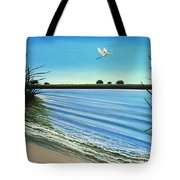 Sandy Beach Tote Bag