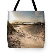 Sandy Beach Haven Tote Bag