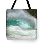 Sandy Beach Shorebreak Tote Bag