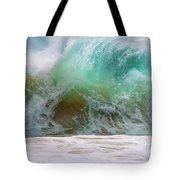 Sandy Beach Surf Tote Bag