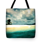 Sandy Cay Tote Bag