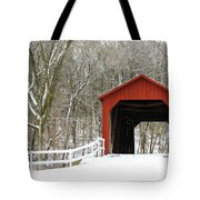 Sandy Creek Covered Bridge Tote Bag