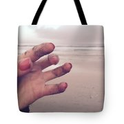 Sandy Fingers Tote Bag