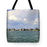 Sandy Neck Cottage Colony Tote Bag