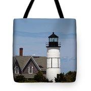 Sandy Neck Light  Barnstable Cape Cod Massachusetts Tote Bag