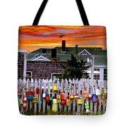 Sandy Neck Sunset Tote Bag