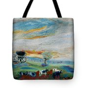 Sandy Ridge Cattle Tote Bag
