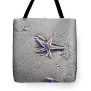 Sandy Star Tote Bag