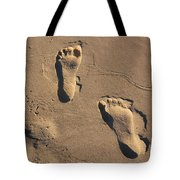 Sandy Toes Tote Bag