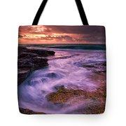 Sandys At Dawn Tote Bag