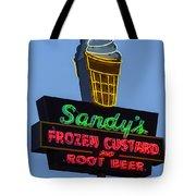 Sandys Frozen Custard - Austin Tote Bag