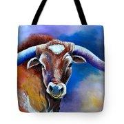 Sandy's Longhorn Bull Tote Bag