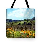 Sanford Ranch Vineyards Tote Bag by Kurt Van Wagner