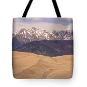 Sangre De Cristo Mountains And The Great Sand Dunes Tote Bag