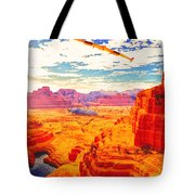 Sangry Valley Tote Bag
