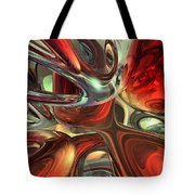 Sanguine Abstract Tote Bag