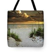 Sanibel Island Beach Access Tote Bag
