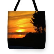 Sanibel Island Sunset Two Tote Bag