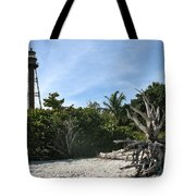 Sanibel Light And Driftwood Tote Bag