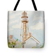Sanibel Lighthouse 2 Tote Bag