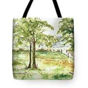 Sanibel Shores Sketch Tote Bag