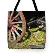 Sanibel Village Wagon Wheels Tote Bag