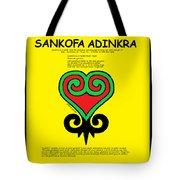 Sankofa Adinkra Tote Bag