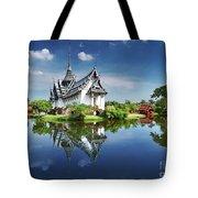 Sanphet Prasat Palace, Thailand Tote Bag