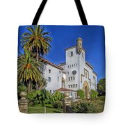 Santa Barbara County Courthouse Tote Bag