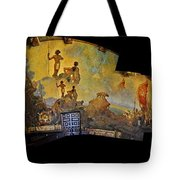 Santa Barbara Hall Of Murals Tote Bag