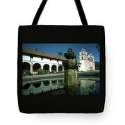 Santa Barbara Mission Tote Bag