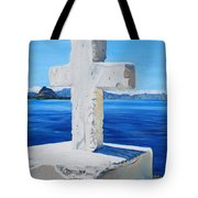 Santa Catarina's Cross Tote Bag
