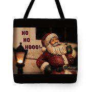 Santa Claus Christmas Card Tote Bag