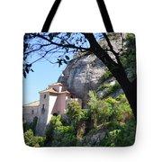 Santa Cova Monserratt Spain Tote Bag