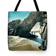 Santa Cruz Beach Arch Tote Bag
