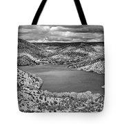 Santa Cruz Lake, New Mexico, April 18, 2016 Tote Bag
