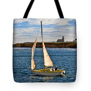Santa Cruz Mark Abbott Memorial Lighthouse Ca  Tote Bag by Christine Till