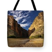 Santa Elena Canyon 1 Tote Bag