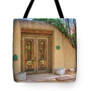 Santa Fe Adobe Front Tote Bag