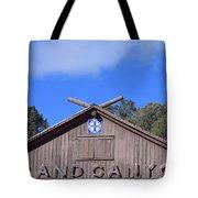 Santa Fe At The Grand Canyon Tote Bag