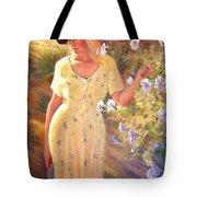 Santa Fe Garden 3   Tote Bag