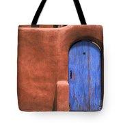 Santa Fe Gate No. 3 - Rustic Adobe Antique Door Home Country Southwest Tote Bag