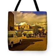 Santa Fe Plaza Tote Bag