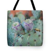 Santa Fe Prickly Pear Cactus Tote Bag
