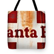 Santa Fe Railway Tote Bag