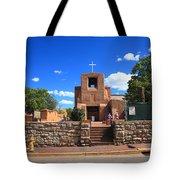 Santa Fe - San Miguel Chapel 6 Tote Bag